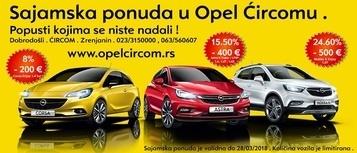 Sajam u Opel Ćircomu .